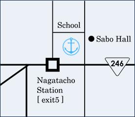 Anchor Pointへの地図